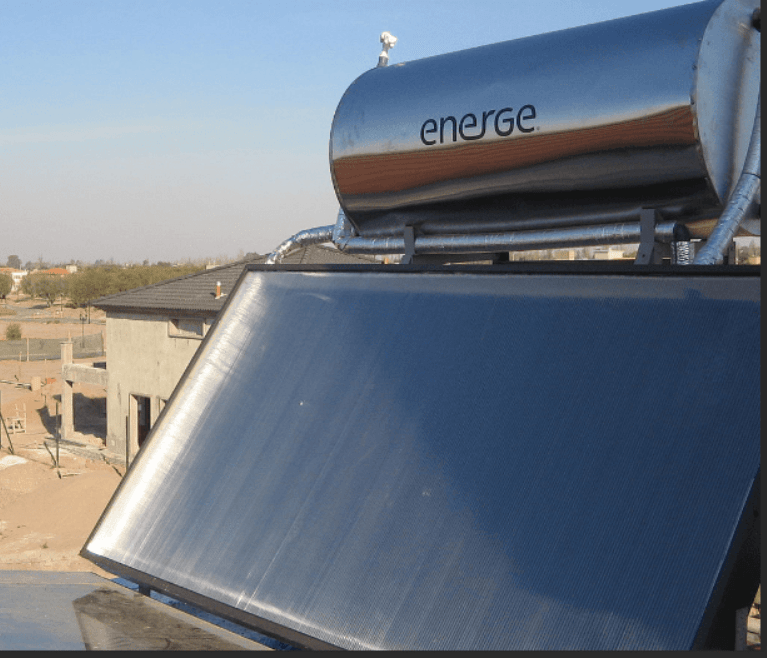 Solar Water Heater Geyser
